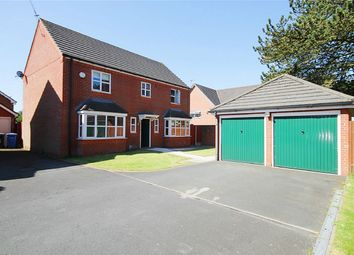 Thumbnail 4 bed detached house for sale in Southwold Crescent, Great Sankey, Warrington