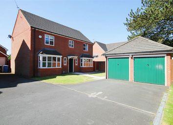 Thumbnail 4 bedroom detached house for sale in Southwold Crescent, Great Sankey, Warrington