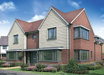 "Thumbnail 4 bed detached house for sale in ""The Oak "" at Fields Road, Wootton, Bedford"