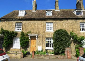 Thumbnail 2 bedroom terraced house for sale in St. Ives Road, Houghton, Huntingdon