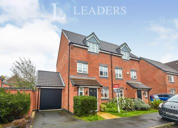 Thumbnail 3 bed semi-detached house to rent in Girton Way, Mickleover, Derby