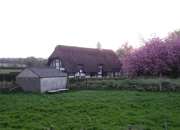 Thumbnail 3 bed cottage for sale in Whitehouse Cottage, Akesmore Lane, Gillow Heath