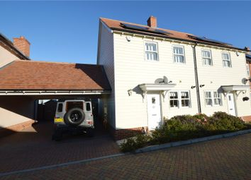 Thumbnail 2 bedroom end terrace house for sale in York Mews, Great Wakering, Southend-On-Sea, Essex