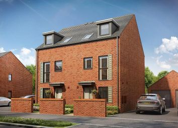 """Thumbnail 3 bed semi-detached house for sale in """"Norbury"""" at East Walk, Yate, Bristol"""