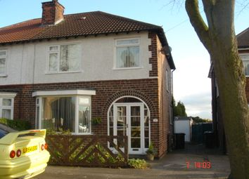 Thumbnail 1 bed semi-detached house to rent in Fernliegh Avenue, Mapperley, Nottingham