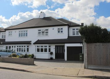 Thumbnail 4 bed property for sale in Repton Avenue, Gidea Park, Romford
