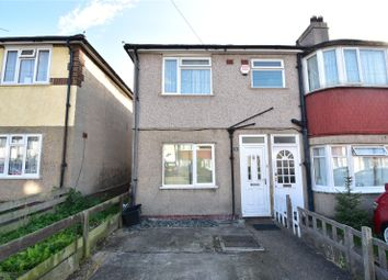 Thumbnail 2 bed maisonette for sale in Burnham Crescent, Dartford, Kent