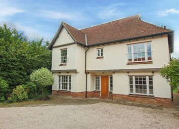 Thumbnail 5 bedroom detached house for sale in Comberton Road, Toft, Cambridge
