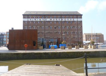 Thumbnail 1 bed flat to rent in The Docks, Gloucester