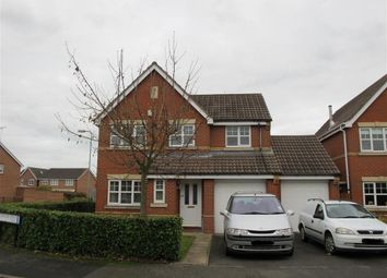 Thumbnail 4 bed detached house to rent in Alderholme Drive, Stretton, Burton-On-Trent
