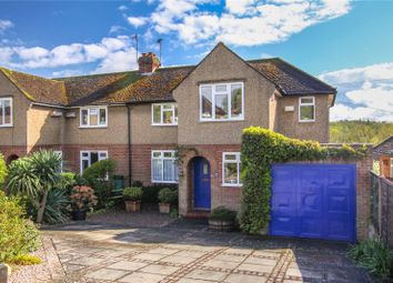 Thumbnail 3 bed semi-detached house for sale in Manor Road, Wheathampstead, St. Albans, Hertfordshire