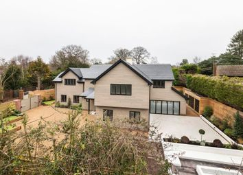 Thumbnail 5 bed detached house for sale in Barley Mow Road, Englefield Green, Egham