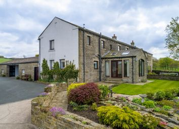 Thumbnail 4 bed farmhouse to rent in Thick Hollins Road, Holmfirth