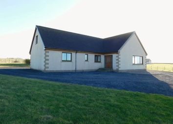 Thumbnail 4 bed detached bungalow for sale in East Mey, Thurso, Caithness