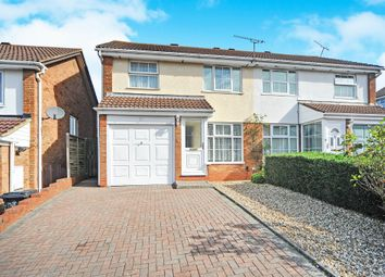 Thumbnail 3 bedroom semi-detached house for sale in Langdale Drive, Freshbrook, Swindon