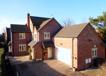 Thumbnail 4 bed detached house for sale in The Butts, Betley, Crewe