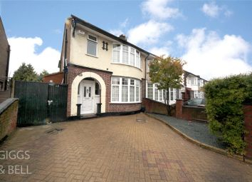 Thumbnail 3 bed semi-detached house for sale in St. Margarets Avenue, Luton