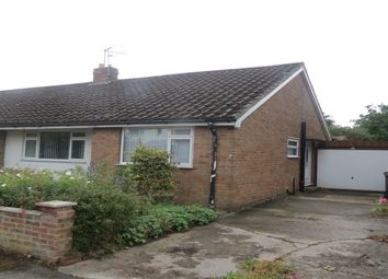 Thumbnail 2 bed semi-detached bungalow to rent in Westlands, Pickering