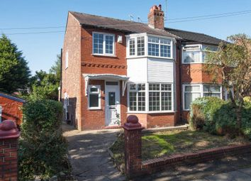 Thumbnail 3 bed semi-detached house for sale in Fairway, Prestwich, Manchester
