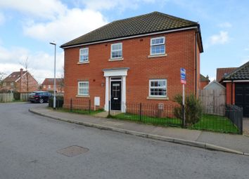 Thumbnail 5 bed detached house for sale in Lime Tree Avenue, Long Stratton