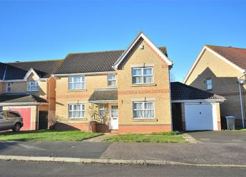 Thumbnail 4 bed detached house for sale in Riverstone Way, Hunsbury Meadows, Northampton