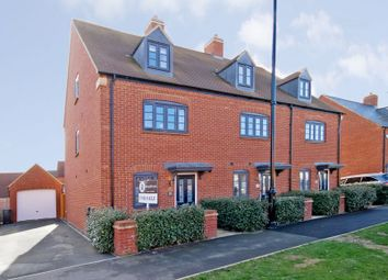 Thumbnail 4 bed end terrace house for sale in Juno Crescent, Brackley
