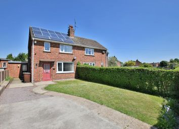 Thumbnail 2 bed semi-detached house for sale in Laughton Way, Ermine, Lincoln