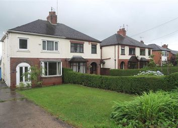 Thumbnail 3 bed semi-detached house for sale in Leek Road, Cheadle, Stoke-On-Trent