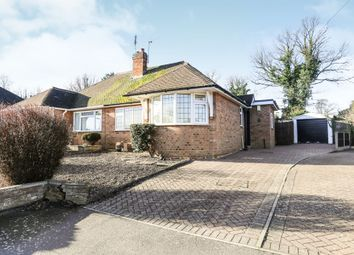 Thumbnail 3 bed semi-detached bungalow for sale in Cedar Close, Ampthill, Bedford