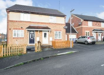 Thumbnail 2 bed semi-detached house for sale in Lupin Close, Kettering