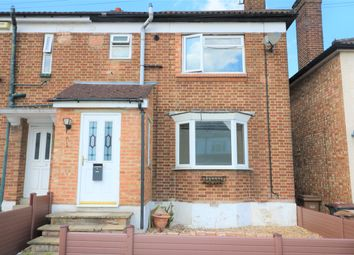 Thumbnail 3 bed terraced house to rent in Warren Road, Luton