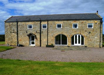 Thumbnail 3 bed barn conversion to rent in West Coldside, Mitford Morpeth