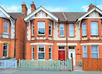 Thumbnail 4 bed semi-detached house for sale in St. Michaels Road, Aldershot