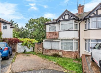 Meadow Close, Chislehurst BR7. 3 bed end terrace house for sale