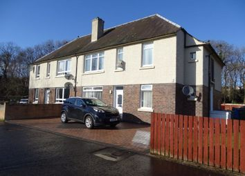 Thumbnail 2 bedroom flat for sale in Mitchell Crescent, Alloa