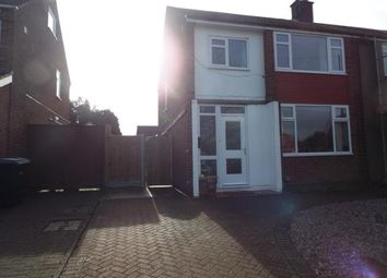 Thumbnail 3 bed semi-detached house for sale in Oddicombe Croft, Styvechale, Coventry, West Midlands