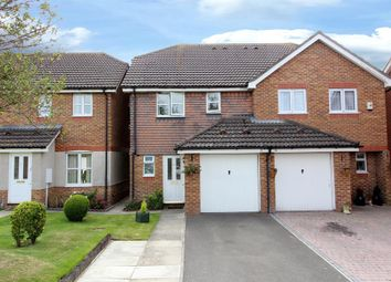 Thumbnail 3 bed semi-detached house for sale in Clive Dennis Court, Ashford, Kent