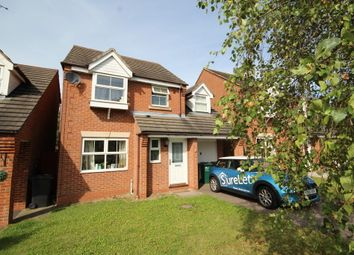 Thumbnail 3 bed detached house to rent in Bourne Way, Swadlincote, Derbyshire