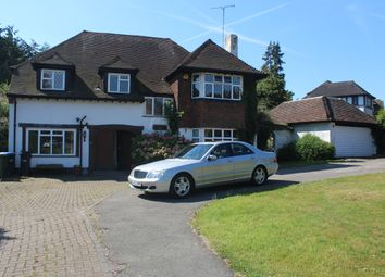 Thumbnail 4 bed detached house to rent in Beech Hill Avenue, Hadley Wood