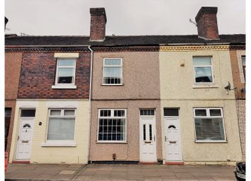 Thumbnail 2 bed terraced house for sale in Welby Street, Stoke-On-Trent