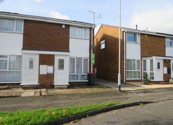 Thumbnail 2 bedroom semi-detached house for sale in Windsor Close, Hucknall, Nottingham