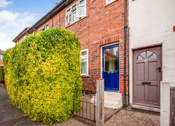 Thumbnail 2 bed terraced house for sale in Crossley Street, Sherwood, Nottingham