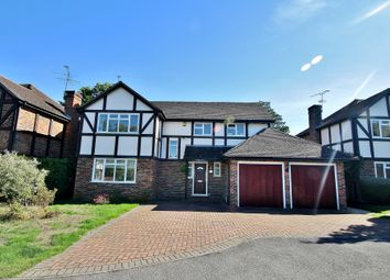 Thumbnail 4 bed detached house for sale in Orchid Drive, Bisley, Woking