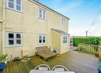 Thumbnail 3 bedroom semi-detached house for sale in Trevarren, St. Columb, Cornwall
