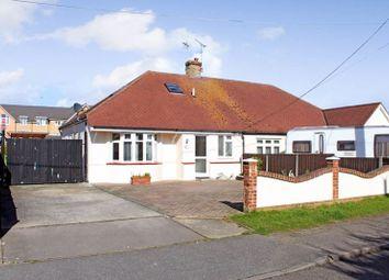 Thumbnail 3 bed semi-detached bungalow for sale in Chalvedon Avenue, Pitsea, Basildon