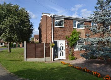 Thumbnail 3 bedroom end terrace house to rent in Shakespeare Road, Eaton Socon, St. Neots