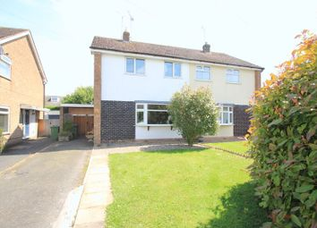 Thumbnail 3 bed semi-detached house for sale in Croydon Drive, Penkridge