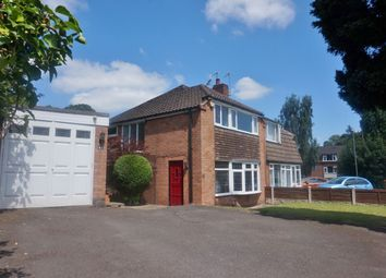 Thumbnail 3 bed semi-detached house for sale in Rectory Road, Sutton Coldfield