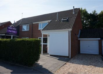 Thumbnail 3 bed semi-detached house for sale in Homestead, Preston