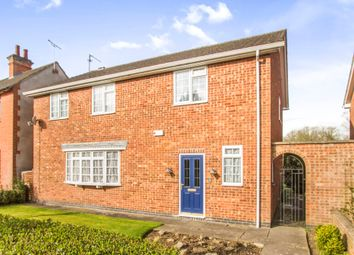 Thumbnail 4 bedroom detached house for sale in Willoughby Road, Countesthorpe, Leicester